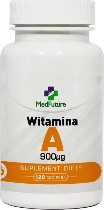 MedFuture MedFuture Witamina A 900 g - 120 tabletek 1