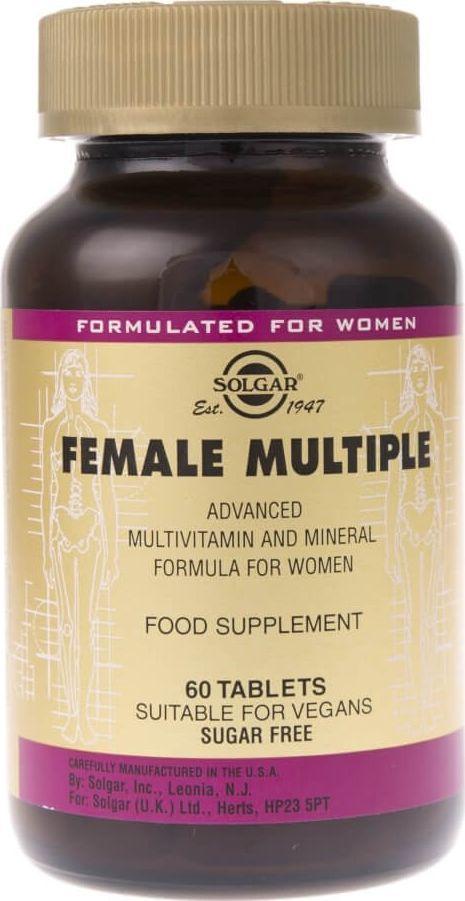 Solgar Solgar Female Multiple dla kobiet - 60 tabletek 1