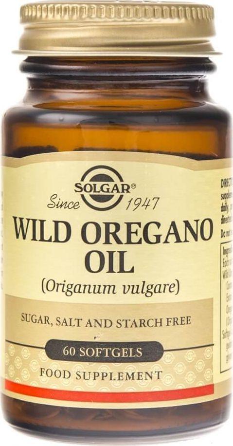 Solgar Solgar Olej z dzikiego oregano - 60 kapsułek 1