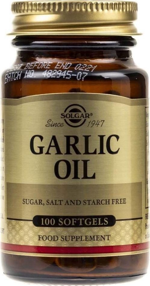 Solgar Solgar Olej Czosnkowy 1 mg - 100 kapsułek 1