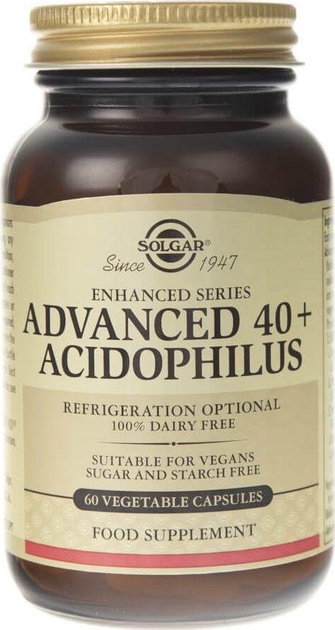 Solgar Solgar Jelitowa flora bakteryjna Advanced 40+ Acidophilus - 60 kapsułek 1