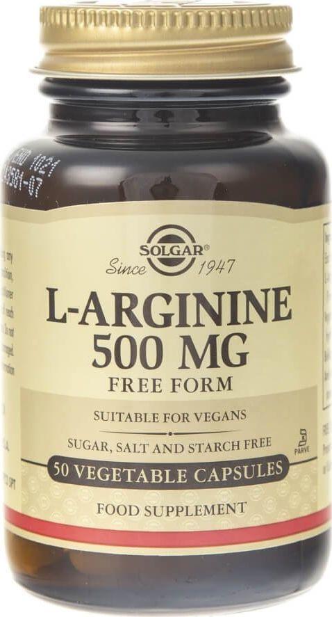 Solgar Solgar L-Arginina 500 mg - 50 kapsułek 1