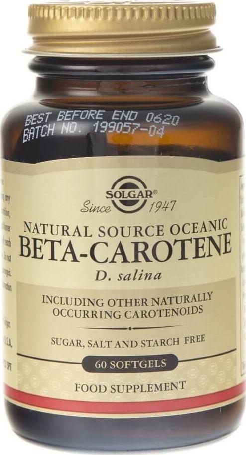 Solgar Solgar Naturalny Beta Karoten 7 mg - 60 kapsułek 1