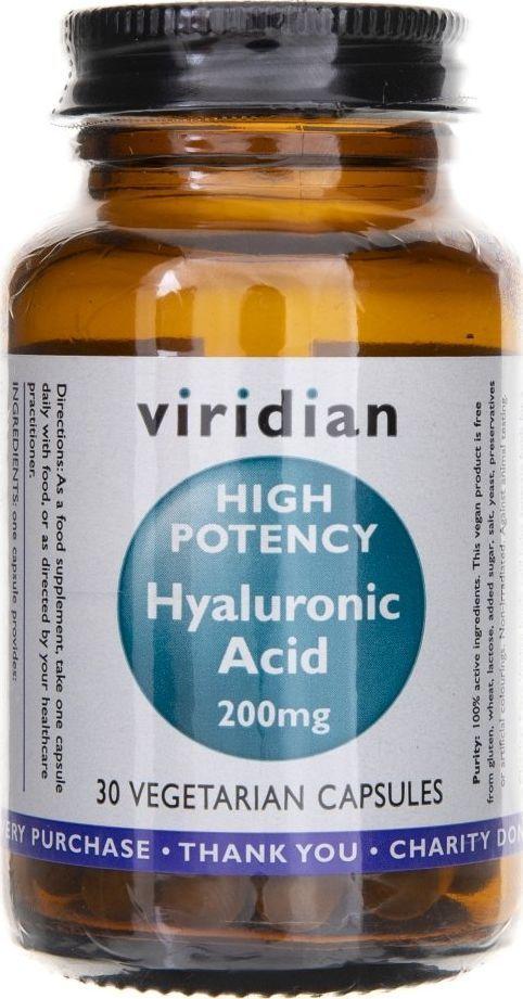 Viridian Viridian Kwas hialuronowy 200 mg - 30 kapsułek 1