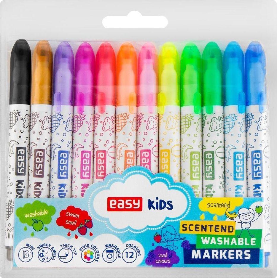 Easy Pisaki spieralne zapachowe Mini 12 kolorów 1