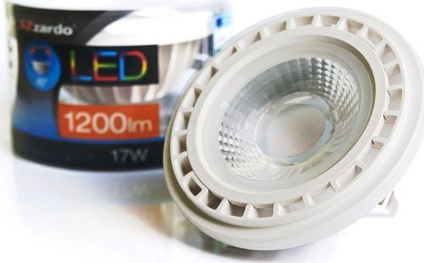 Azzardo Transparentna żarówka QR111 17W ciepła AZzardo LED LL153171 1