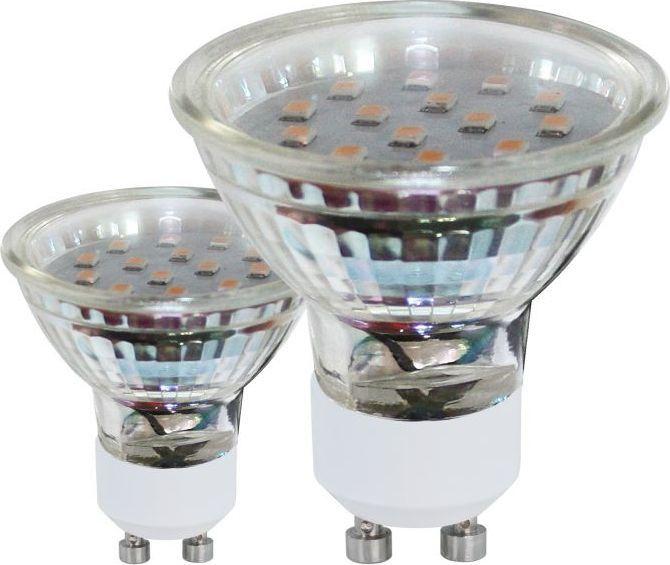 EGLO Przezroczysta żarówka GU10 3W ciepła Eglo LED 11427 1