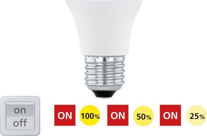 EGLO Biała mleczna żarówka E27 10W ciepła Eglo LED 11561 1