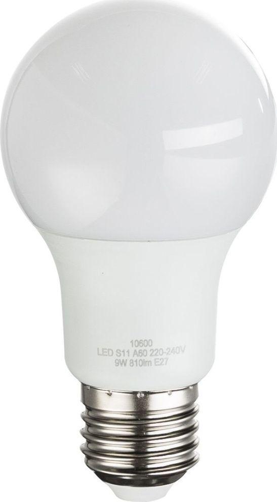 Globo Mlecznobiała żarówka E27 9W ciepła Globo LED 10600-2 1
