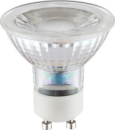 Globo Przezroczysta żarówka GU10 5W ciepła Globo LED 10705 1