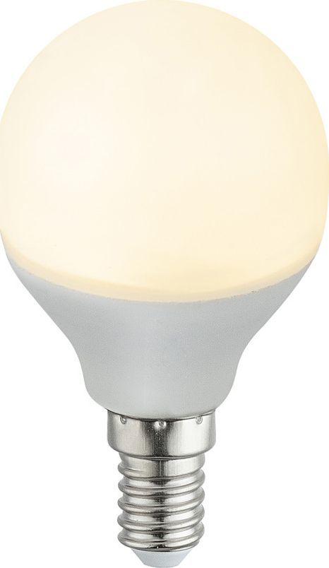 Globo Mleczna żarówka E14 5W ciepła Globo LED 10641 1