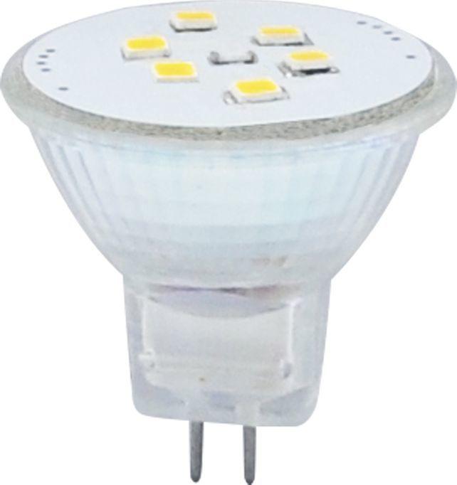 Polux Przezroczysta żarówka MR11 2W ciepła Polux LED 209399 1