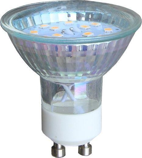 Spotlight Transparentna żarówka GU10 3W ciepła Spotlight LED 9800102 1