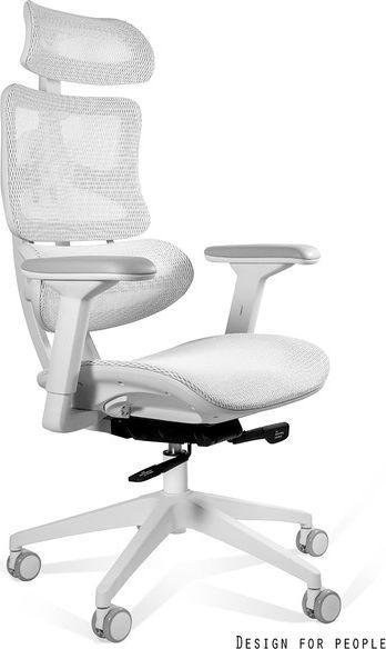 Unique Fotel Ergotech White 1