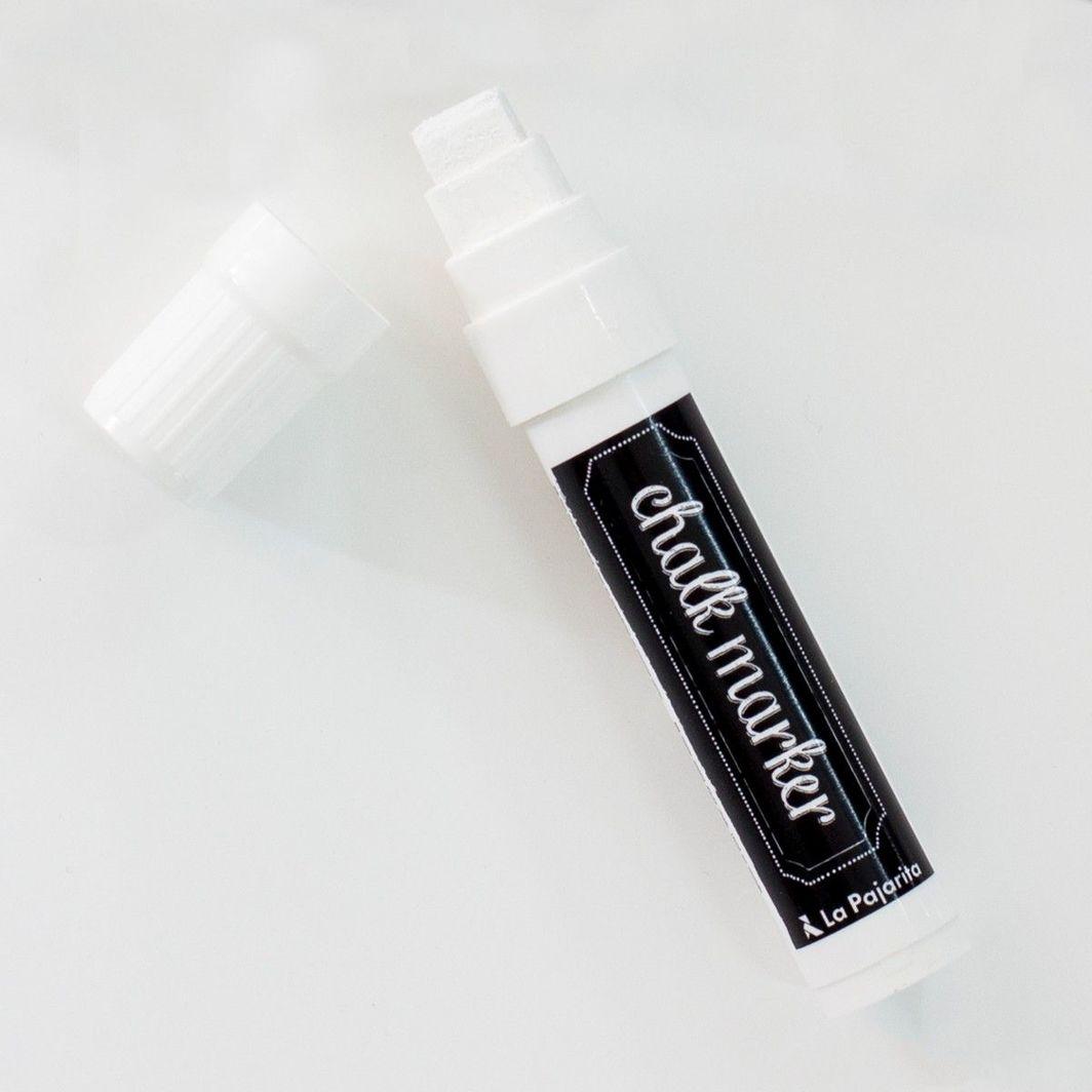 La Pajarita Marker Kredowy Biały 15 mm 1