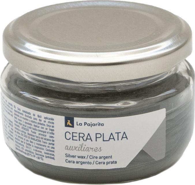 La Pajarita Wosk Metaliczny Srebrny 75 ml 1