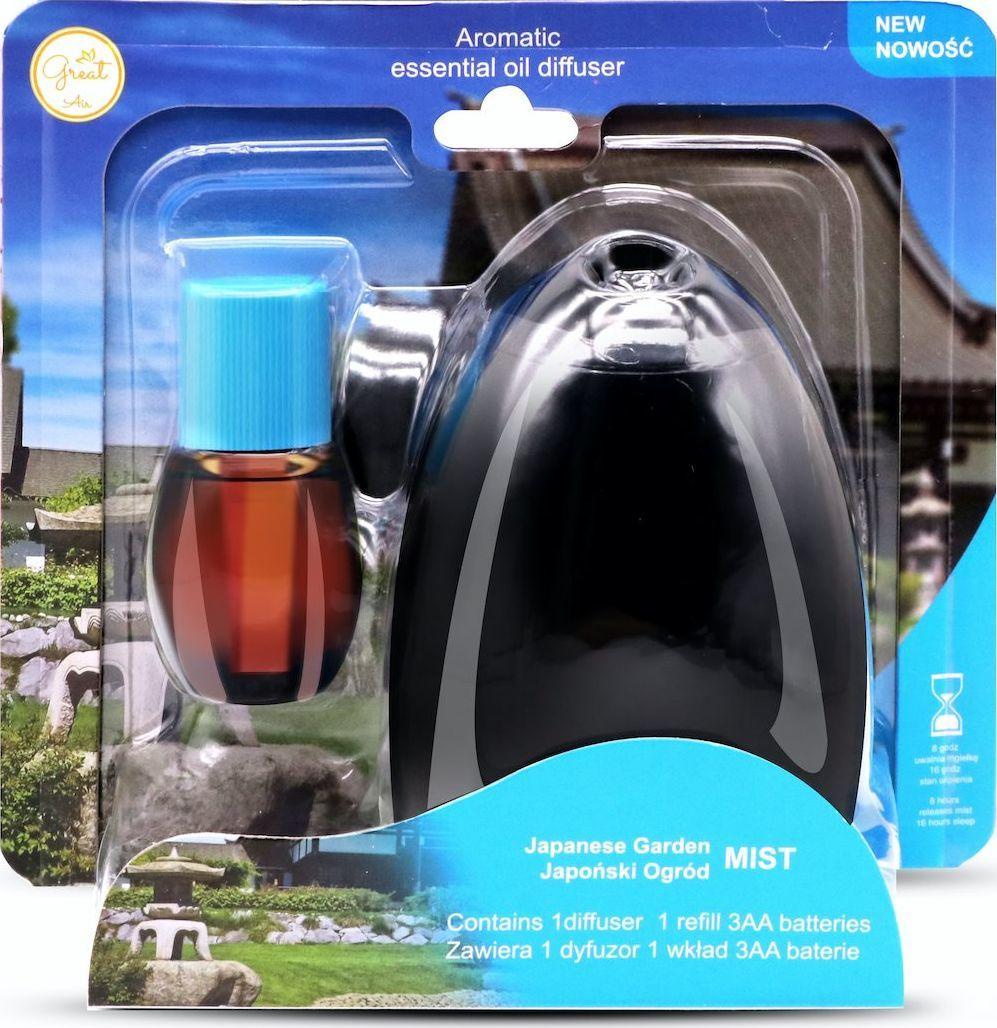 Great Air Zestaw dyfuzor+wkład Japoński Ogród 22ml 1