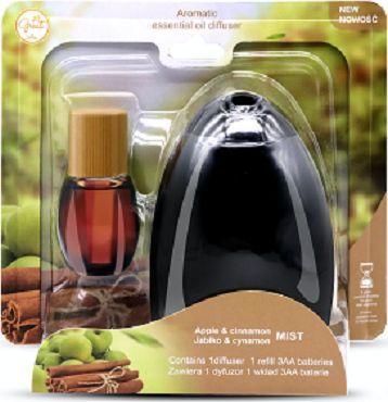 Great Air Zestaw dyfuzor+ wkład jabłko&cynamon 22ml 1