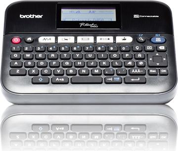 Drukarka etykiet Brother P-touch PT-D450VP (PTD450VPYJ1) 1