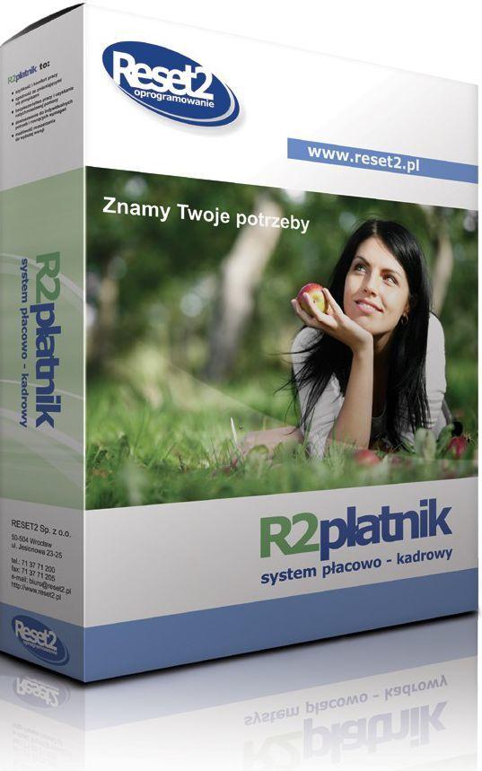 Program Reset2 R2płatnik Mini (10prac/biuro rach.50firm/1st) (PJCA00) 1