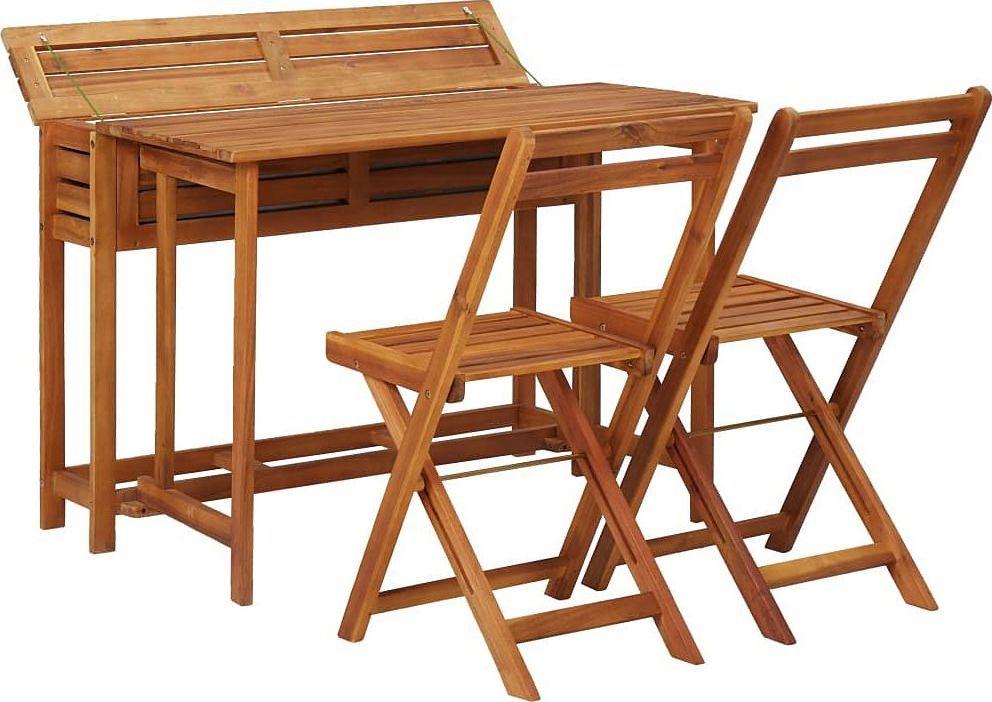 Elior Zestaw drewnianych mebli ogrodowych Folda 1