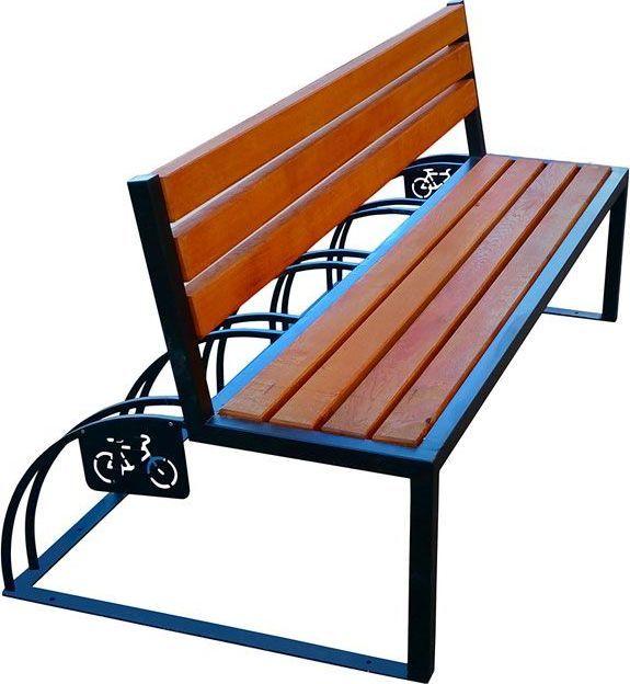 Elior Ławka parkowa drewniana Ronson 150 cm - 84 kolory Sosna 1