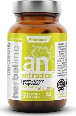 Pharmovit Antiradical Herballine 60 Kaps Pharmovit Antyoksydacja I Odporność Bio Perine Piper Nigrum Selen Witamina C Kurkuma 1