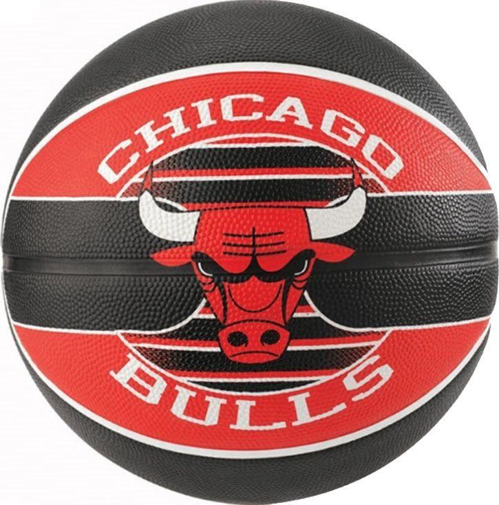 Spalding Spalding NBA Team Chicago Bulls Ball 83503Z czarne 7 1