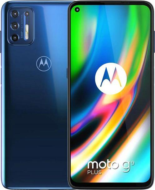 Smartfon Motorola Moto G9 Plus 4/128GB Dual SIM Granatowy  (PAKM0003PL) 1
