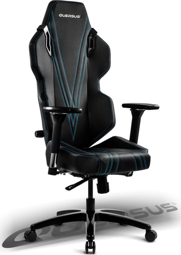 Fotel Quersus Evos 303 Czarno-niebieski (E303/XB) 1