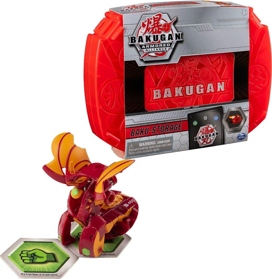 Spin Master Bakugan Czerwona walizka kolekcjonerska + Dragonoid  1