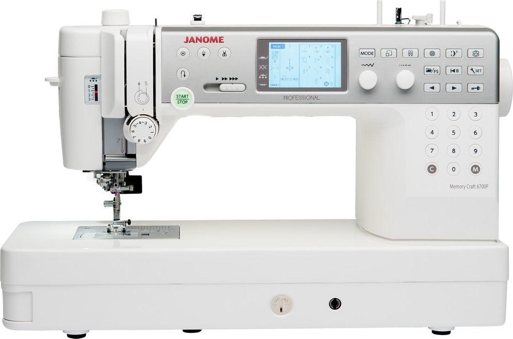 Maszyna do szycia Janome Maszyna do szycia JANOME MC6700P 1