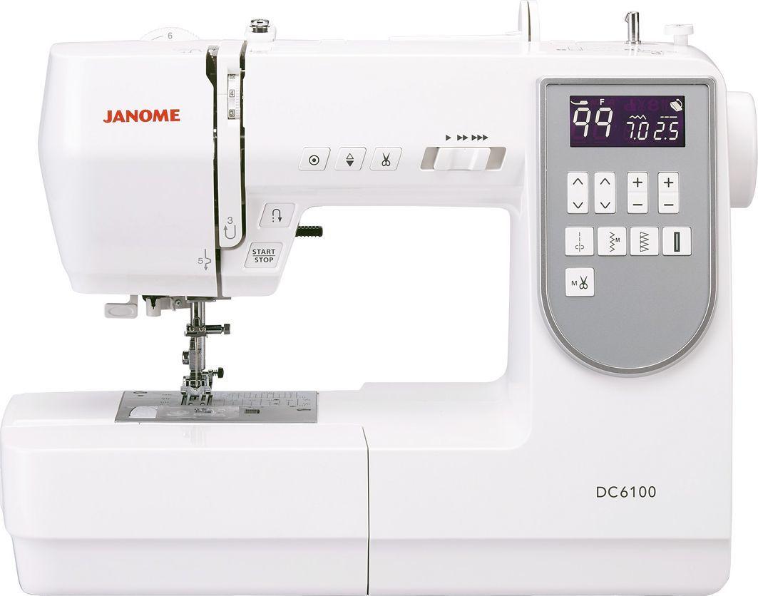 Maszyna do szycia Janome Maszyna do szycia JANOME DC6100 1