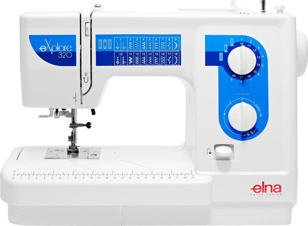 Maszyna do szycia Elna Maszyna do szycia ELNA 320 EX + 3 stopki gratis 1