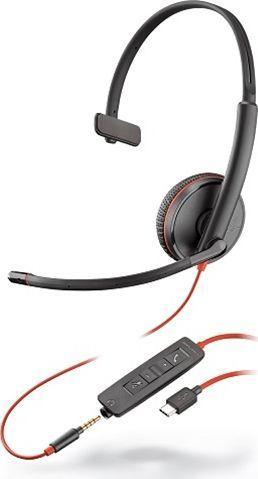 Słuchawki z mikrofonem Poly Blackwire C3215 Mono USB-C (209750-201) 1