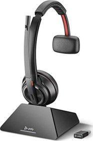 Słuchawki z mikrofonem Poly  Savi 8210 UC USB-A Mono (209213-02) 1