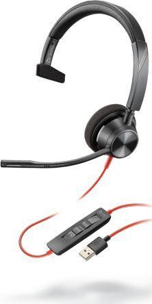 Słuchawki z mikrofonem Poly Blackwire C3310-M  USB-C (214011-01)  1