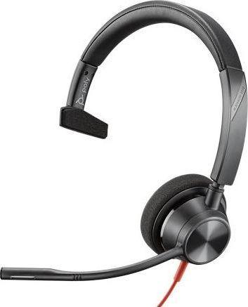 Słuchawki z mikrofonem Poly Blackwire C3310 USB-A Mono (213928-01) 1