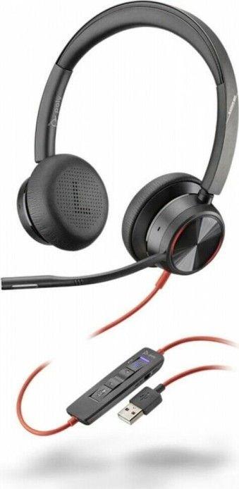 Słuchawki z mikrofonem Poly Blackwire C8225-M USB-A ANC (214408-01) 1