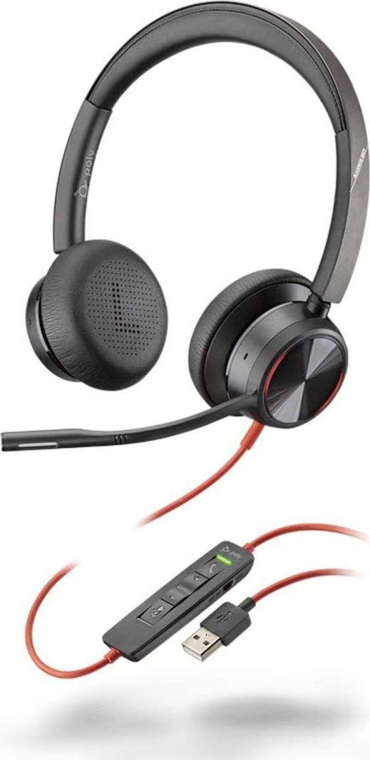 Słuchawki z mikrofonem Poly Blackwire C8225 USB-A ANC (214406-01) 1