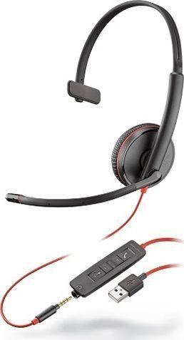 Słuchawki z mikrofonem Poly Blackwire C3215 USB-A (209746-201) 1