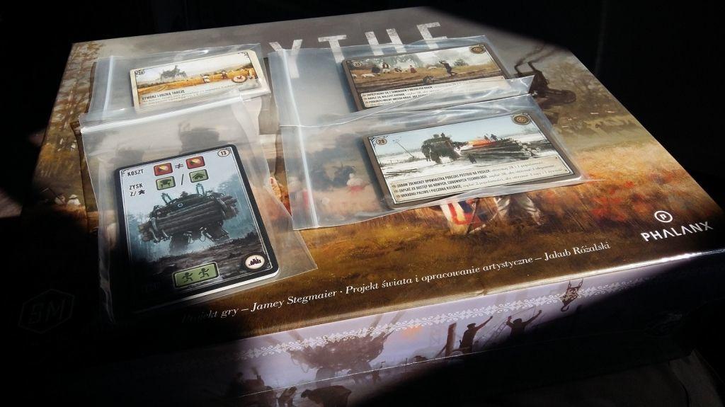 Phalanx GRA PLANSZOWA SCYTHE: karty promocyjne (18) - dodatek PHALANX GAMES 1