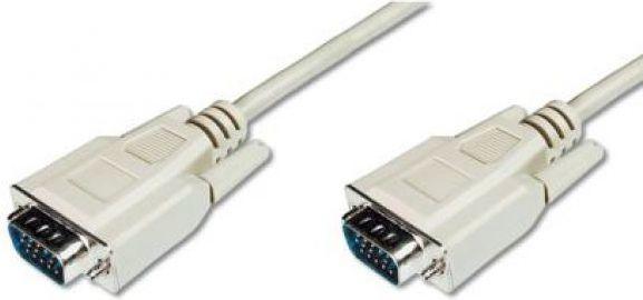 Kabel Assmann D-Sub (VGA) - D-Sub (VGA) 1.8m szary (AK-310100-018-E) 1
