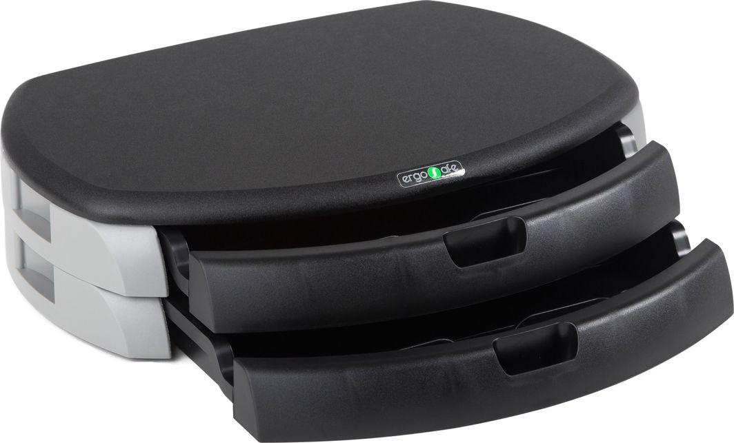 ErgoSafe Podstawka pod monitor/drukarkę z 2 szufladami (1) 1
