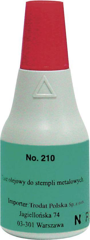 Noris tusz do stempli metalowych 25ml czerwony (NO210CE) 1