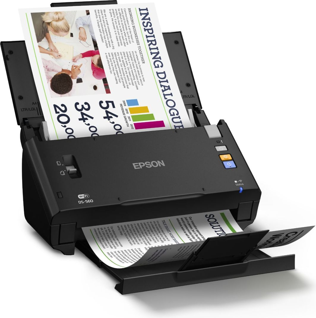 Skaner Epson WorkForce DS-860N (B11B222401BT) 1