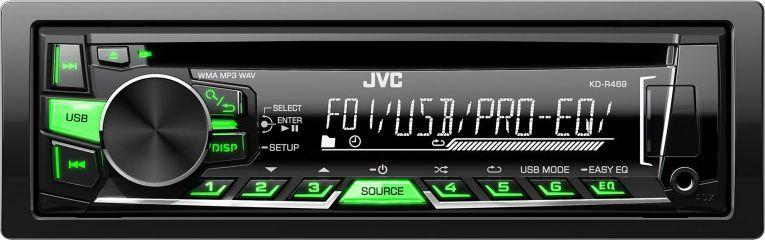 Radio samochodowe JVC KD-R469 1