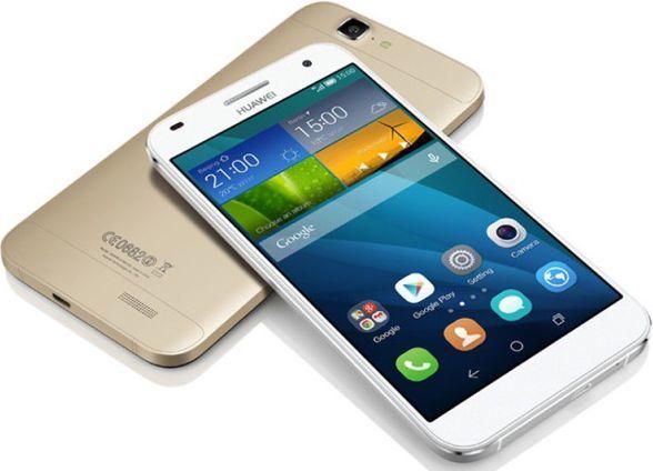 Smartfon Huawei 16 GB Złoty  1