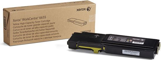 Xerox WC 6655 Hi-Cap YELLOW 1
