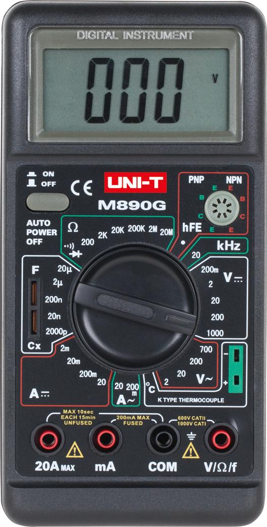 Uni-T Miernik uniwersalny M-890G (MIE0006) 1
